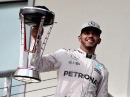 Rosberg erreicht Minimalziel - Hamiltons Jubiläumssieg