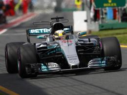 Hamilton unterbietet Schumachers Streckenrekord