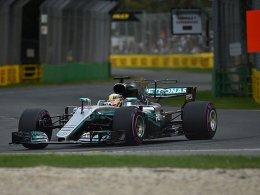 Pole: Hamilton hält Vettel und Bottas in Schach
