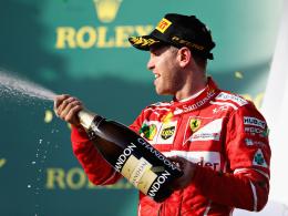 Auftaktsieg für Ferrari! Vettel rockt den Albert Park