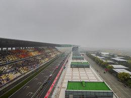 Smog und Regen - Zweites Training ist abgesagt