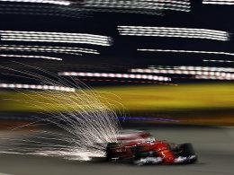 2. Freies Training: Vettel erneut vorne