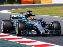 Hamilton und Bottas zu stark für Ferrari