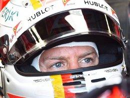 Räikkönen mit Bestzeit - Vettel zweimal hinter Hamilton