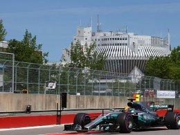 Hamilton schnappt sich die Pole Position