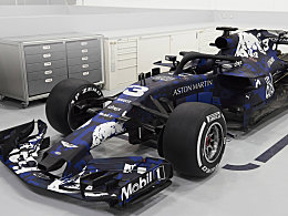 Der neue Aston Martin Red Bull Racing RB14 TAG-Heuer