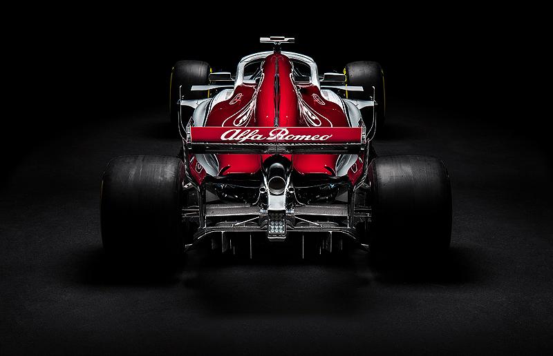 Der Alfa Romeo Sauber F1 C37