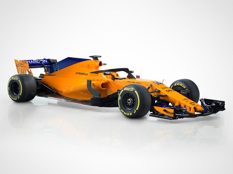 McLaren präsentiert den MCL33