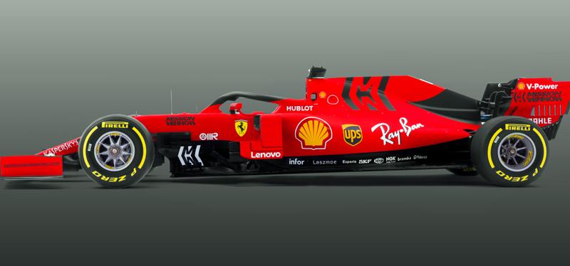 Haas in Schwarz und Gold - Ferrari in neuem Rot