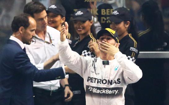 Lewis Hamilton hat es geschafft! Der Brite ist zum zweiten mal nach 2008 Formel-1-Weltmeister.