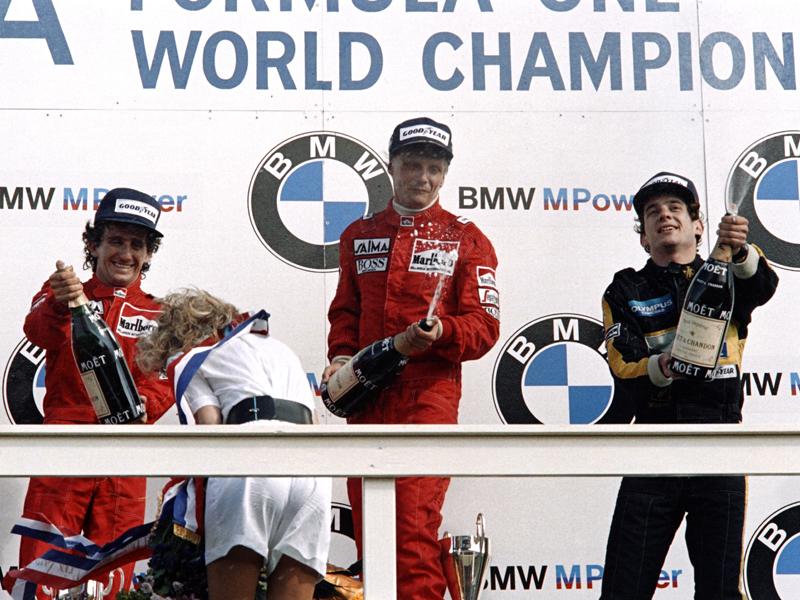 Die zehn F1-Fahrer mit den meisten GP-Siegen