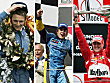 Niki Lauda, Fernando Alonso, Michael Schumacher (v.l.n.r.)