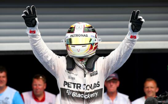 Mercedes-Pilot Lewis Hamilton feierte in Belgien seinen sechsten Saisonsieg.