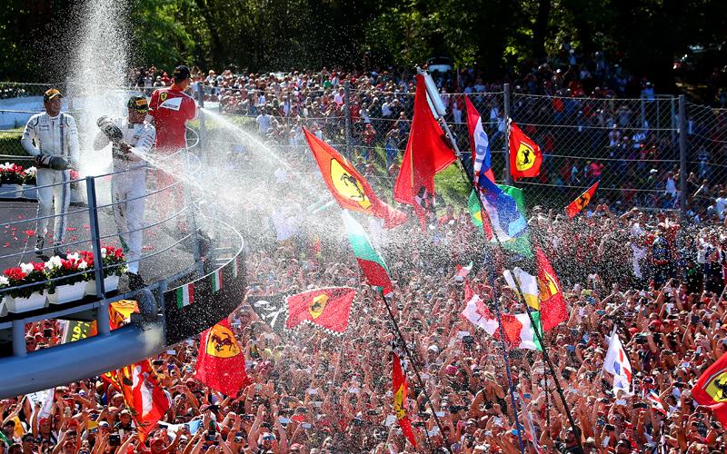 Hamilton, K�nig von Monza
