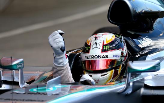 Mercedes-Pilot Lewis Hamilton wiederholte seinen Vorjahressieg in Japan.
