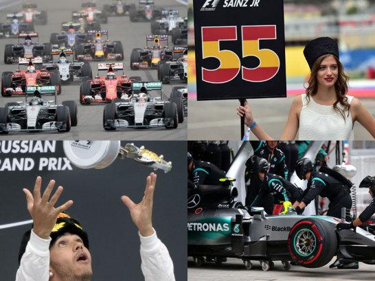 Rosbergs Pech ist Hamiltons Gl�ck