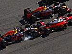 Kvyat crasht Vettel