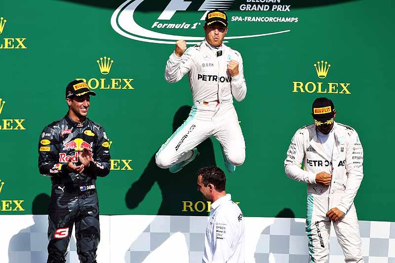 Rosberg rockt Spa-Franchorchamps