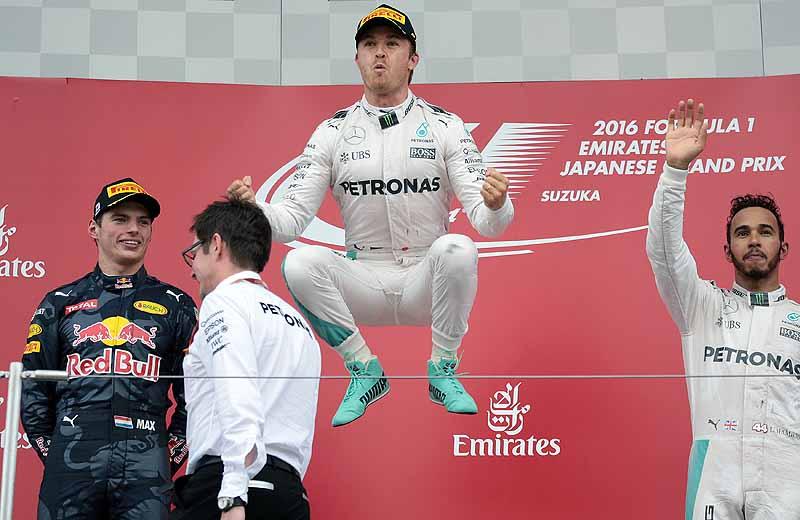 Rosberg triumphiert in Suzuka