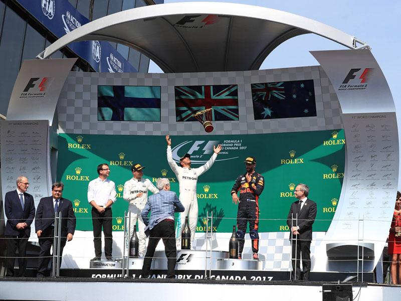 Schweiß-Sekt für Captain Picard: Eindrücke vom GP in Kanada