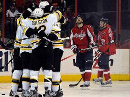 Auswärtssieg: Die Boston Bruins holten sich in Washington das wichtige dritte Spiel.