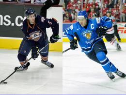 Justin Schultz, Mikael Granlund (re.)