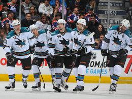Ein Sechserpack gleich im Auftaktdrittel: Die San Jose Sharks raubten den Edmonton Oilers schnell den Atem.