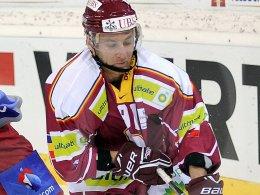 Neu bei den Krefelder Pinguinen: Tomas Kurka.
