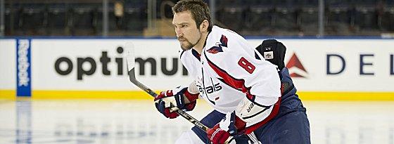 Zum dritten Mal der MVP der NHL: Alexander Ovechkin.