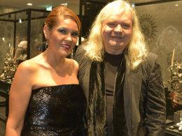Thomas Sabo mit seiner Ehefrau Luz-Enith Sabo.
