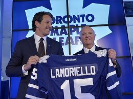 Lamoriello neuer GM der Maple Leafs
