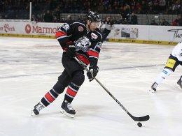 Sieger über Berlin: David Steckel von den Nürnberg Ice Tigers.