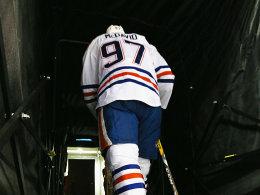 Nichts zu erben im Barclays Center: Oilers-Jungstar Connor McDavid.