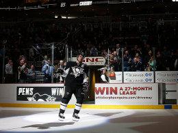 Crosby verl�ngert Torserie auf sieben Spiele