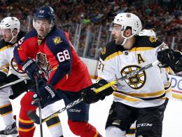 Bruins bremsen Panthers - Jagr �berholt Howe