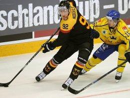 1:3 - DEB-Team unterliegt auch Schweden
