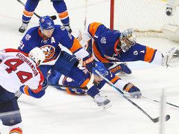 Greiss packt zu: Islanders nach 23 Jahren wieder in Runde zwei