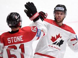 Viertelfinale perfekt: DEB profitiert von Kanada