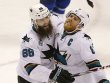 Brent Burns und Joe Pavelski