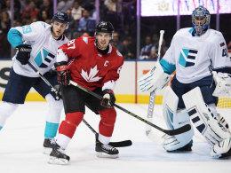 Kanada gewinnt erstes Finale gegen starke Europa-Auswahl