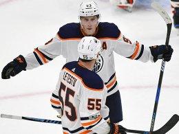 Oilers jubeln ohne Draisaitl - Hischiers Premiere