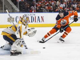 Draisaitl verliert mit Edmonton gegen Nashville