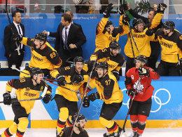 Eishockey-Wunder perfekt! Deutschland im Finale