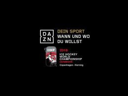 Live und auf Abruf: Die Spiele der Eishockey-WM in Dänemark