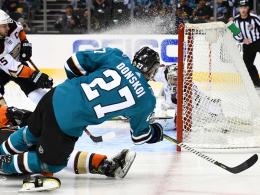 8:1! Sharks demütigen undisziplinierte Ducks