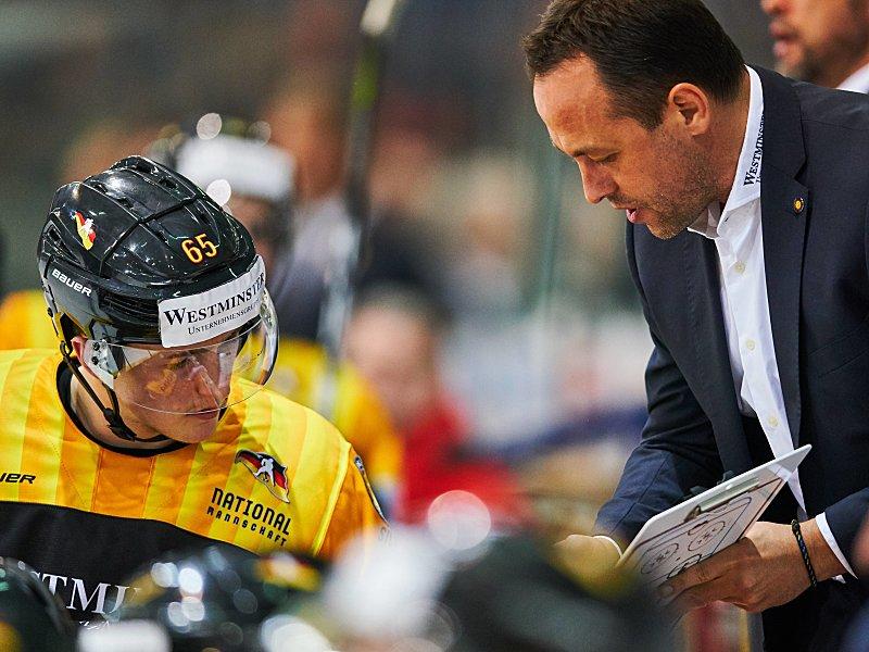 Eishockey: Fehlstart für DEB-Team: 2:3 gegen Dänemark