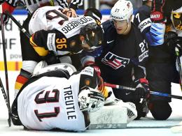 Top-Leistung unbelohnt: DEB-Team verliert gegen USA