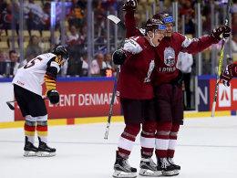 1:3 gegen Lettland! DEB-Team vor Turnier-Aus