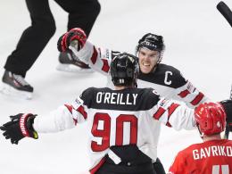 5:4! Kanada besiegt Russland - Schweiz überrascht