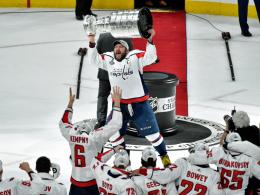 Dank Ovechkin und Eller: Capitals gewinnen Stanley Cup!